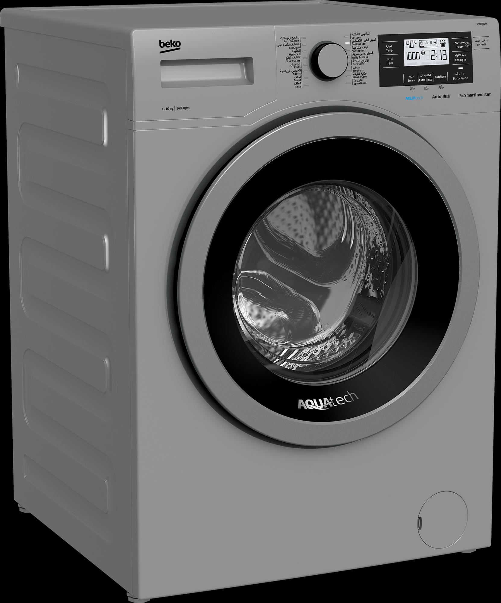 BEKO 10Kg Front Load Washing Machine WTE1014S