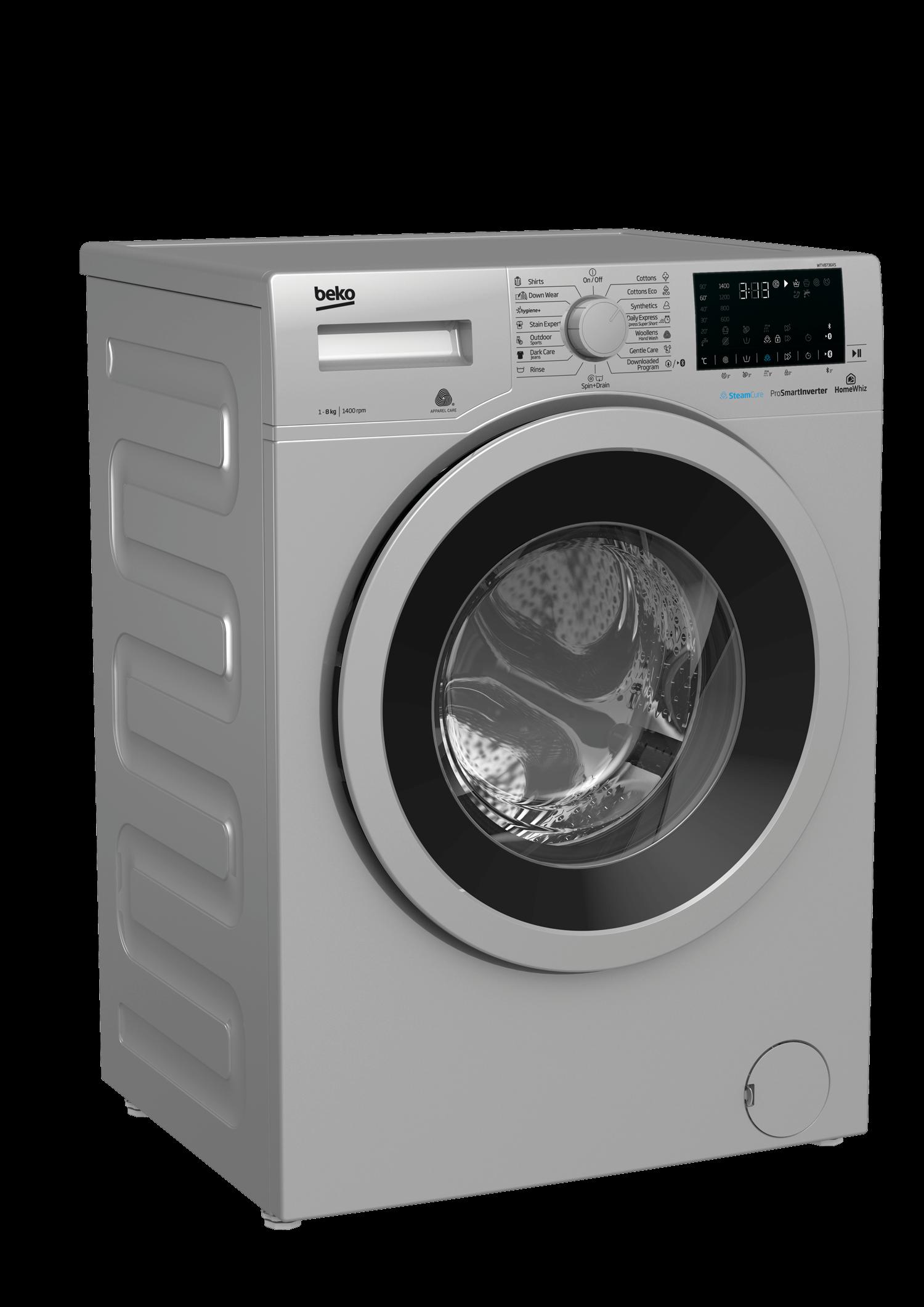 BEKO 8Kg Front Load Washing Machine WTV8736XS