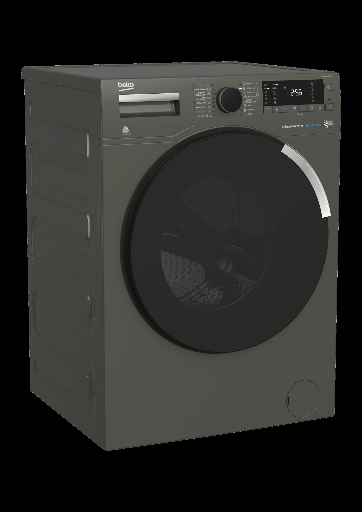 BEKO 16 Programes Front Load Washer Dryer WDR854P14N1MG