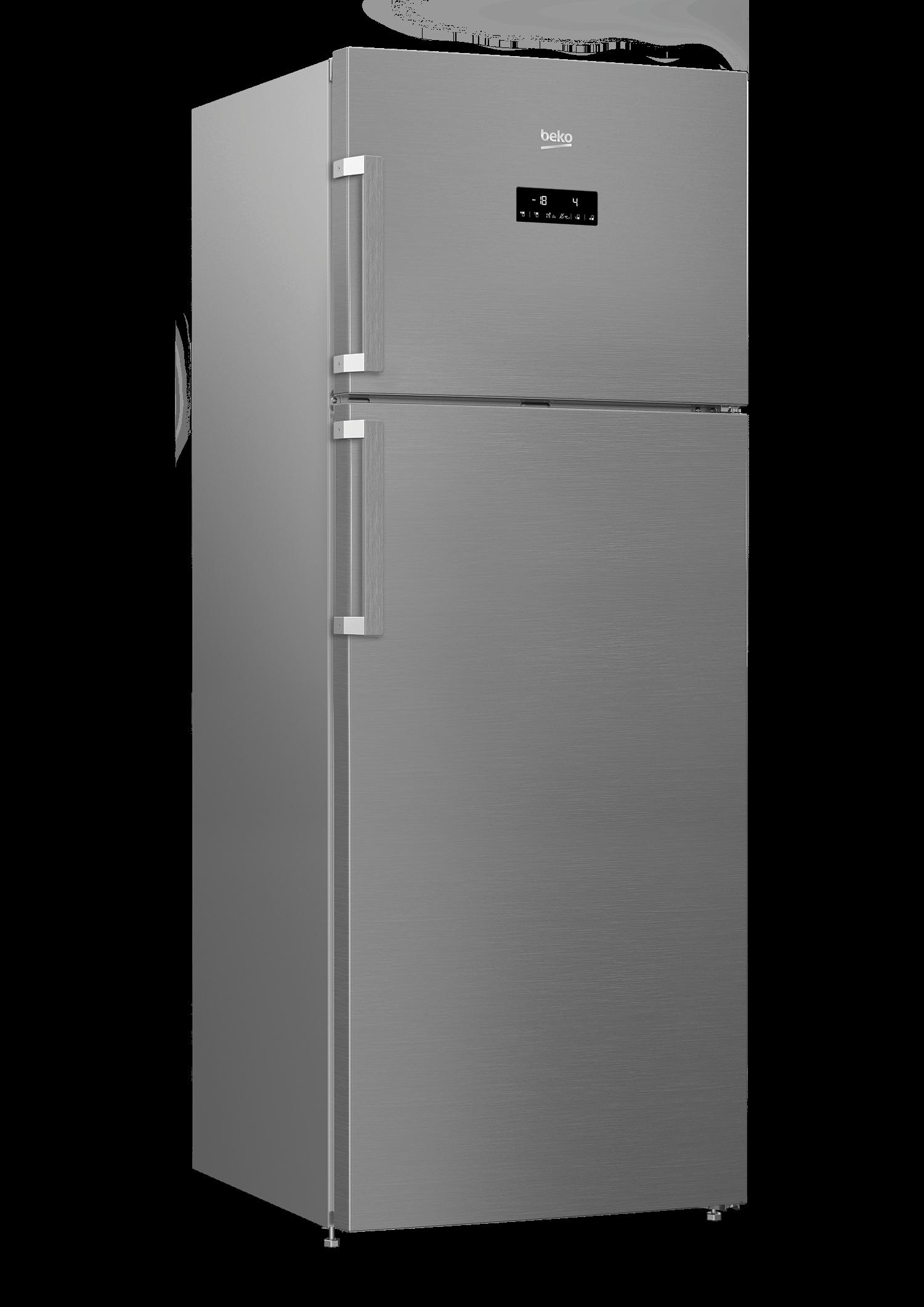 BEKO 505 Liter Top Freezer Refrigerator RDNE550K21ZPX