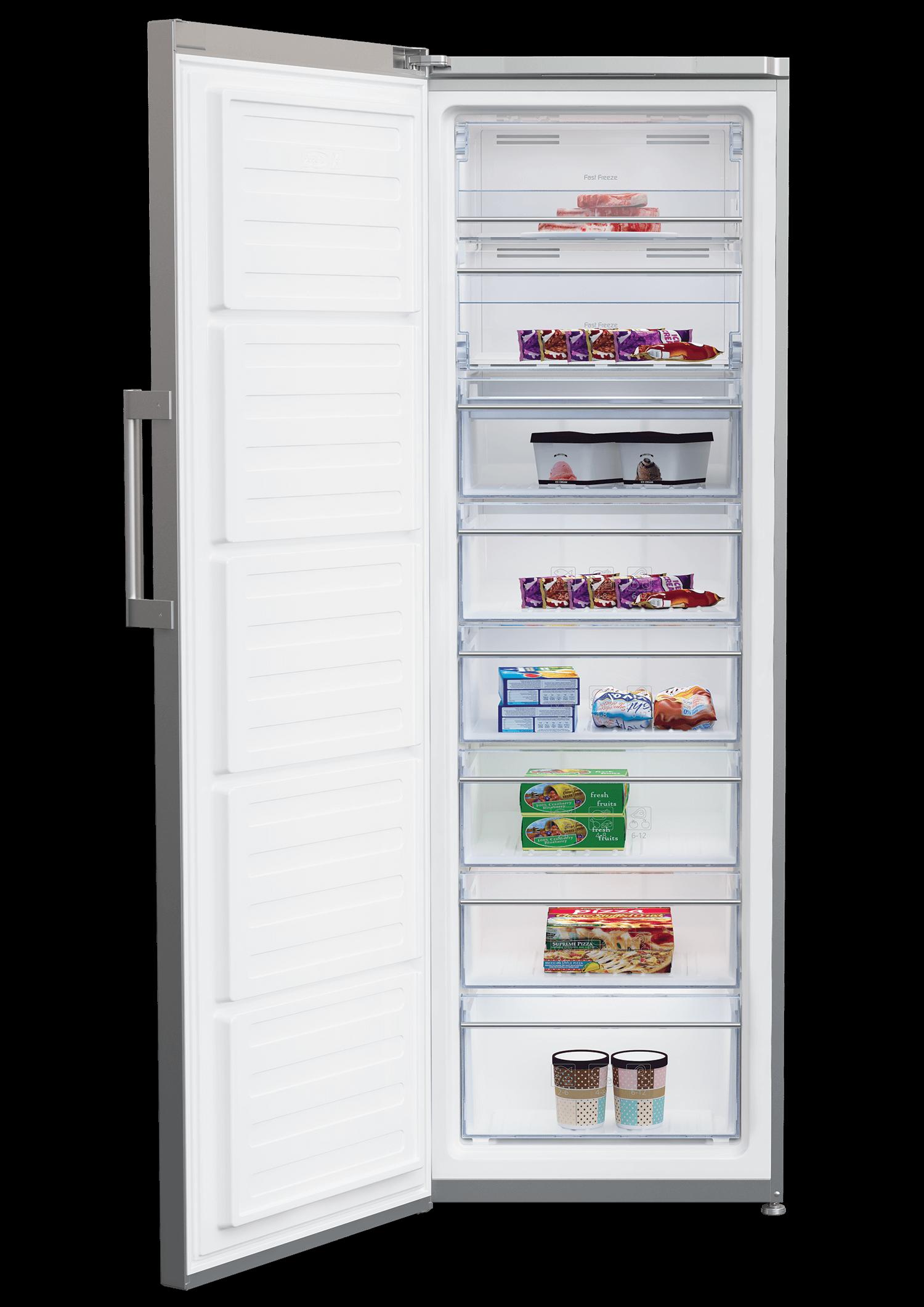 BEKO 350 Liter Upright Freezer RFNE350E23PX