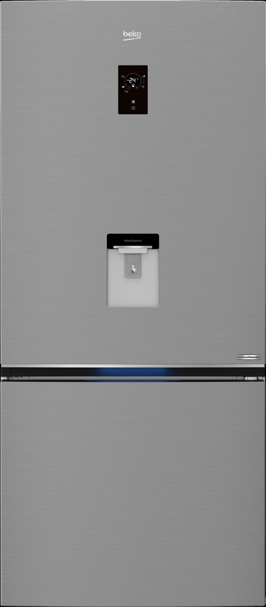 BEKO 720 Liter Bottom Freezer Refrigerator RCNE720E20PX