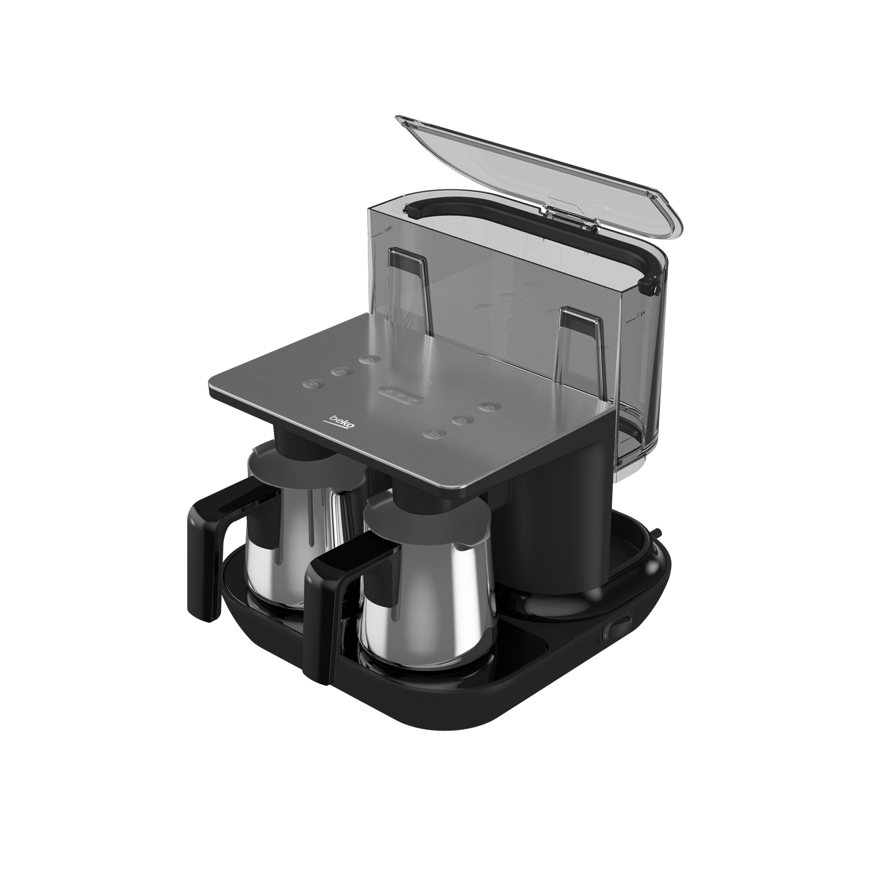 BEKO Turkish Coffee Machine Double Pot TKM8961A