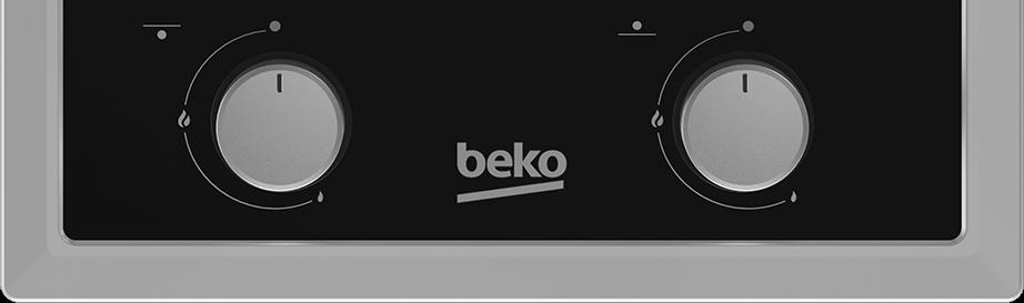 BEKO 30cm Built In Gas Hob HDMS32220FX
