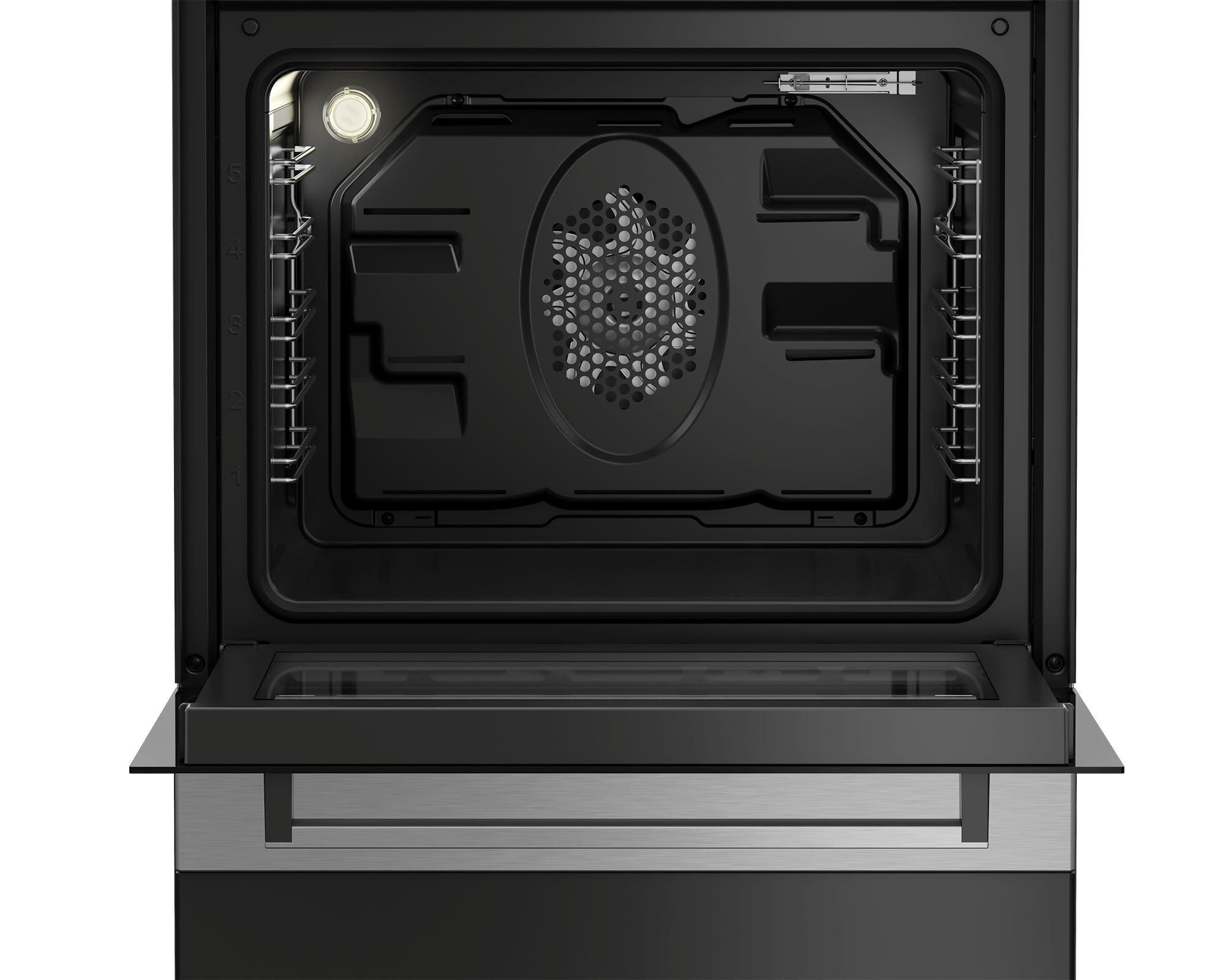 BEKO 60cm Electric Cooker FSM67320GXS
