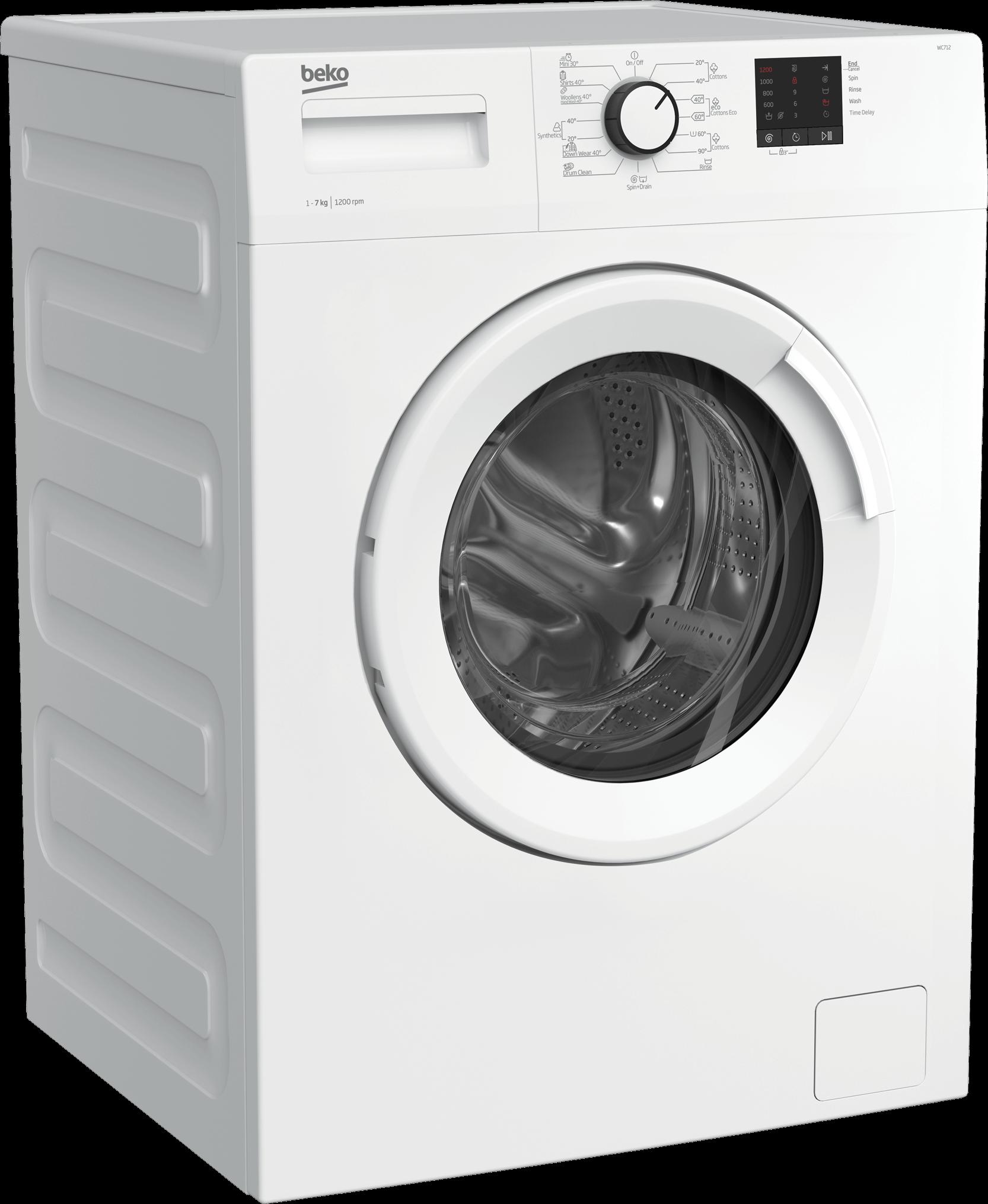 BEKO 7Kg Front Load Washing Machine WC712