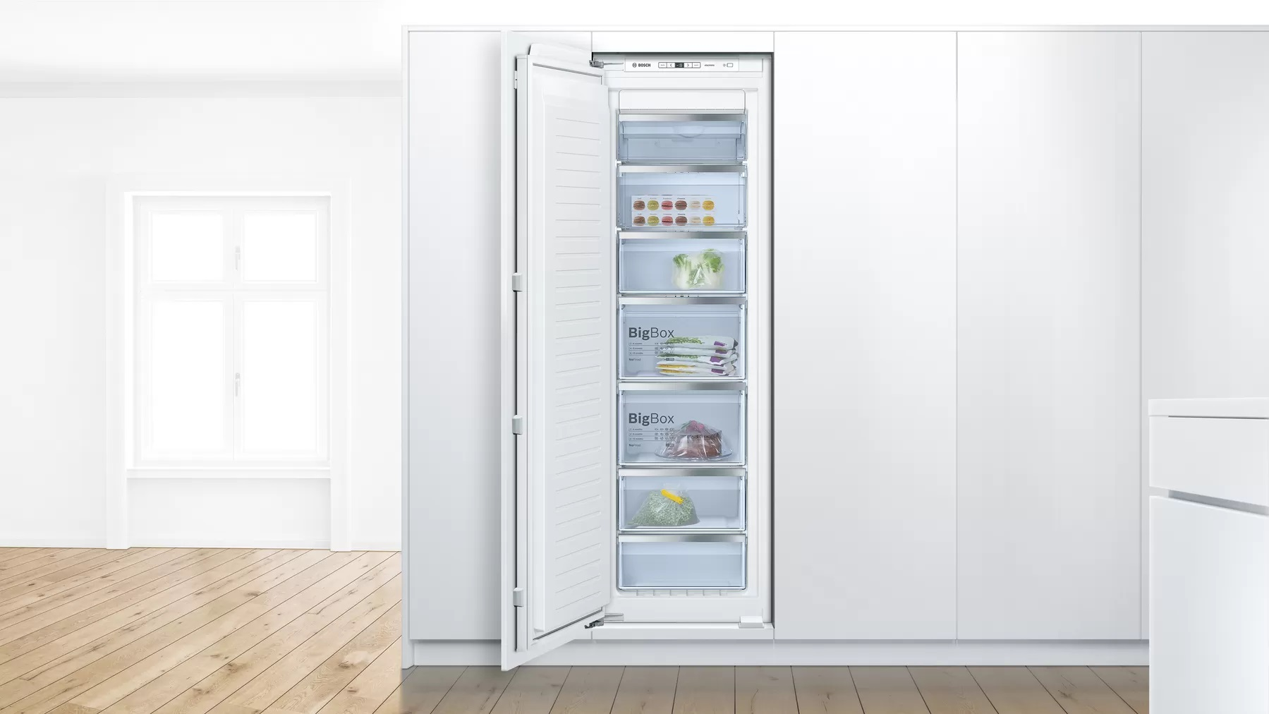 BOSCH 235 Litres Built In Freezer GIN81AE30M