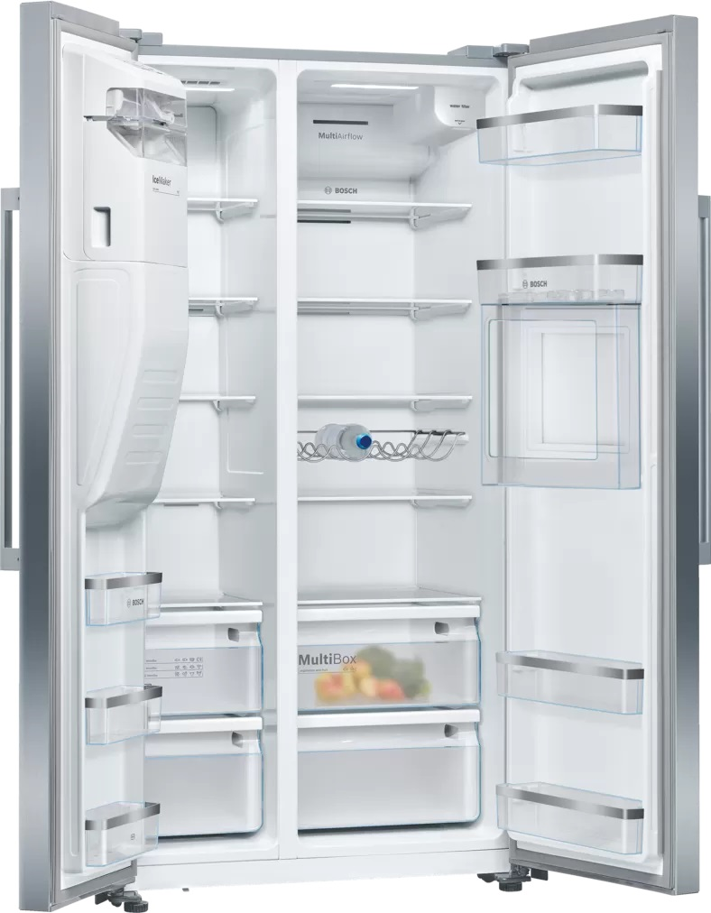 BOSCH 598 Litres Side By Side Refrigerator KAG93AI30M