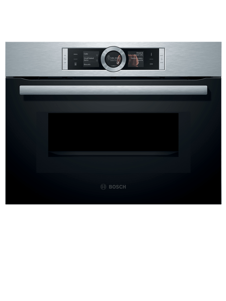 BOSCH 12 Heating Methord Compact Oven With Microwave CMG656BS1M