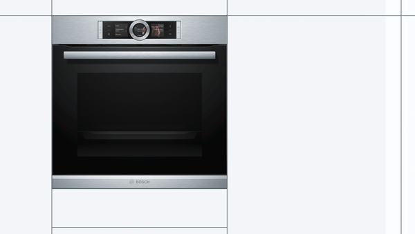 BOSCH 60cm Built In Electric Oven HBG656RS1M