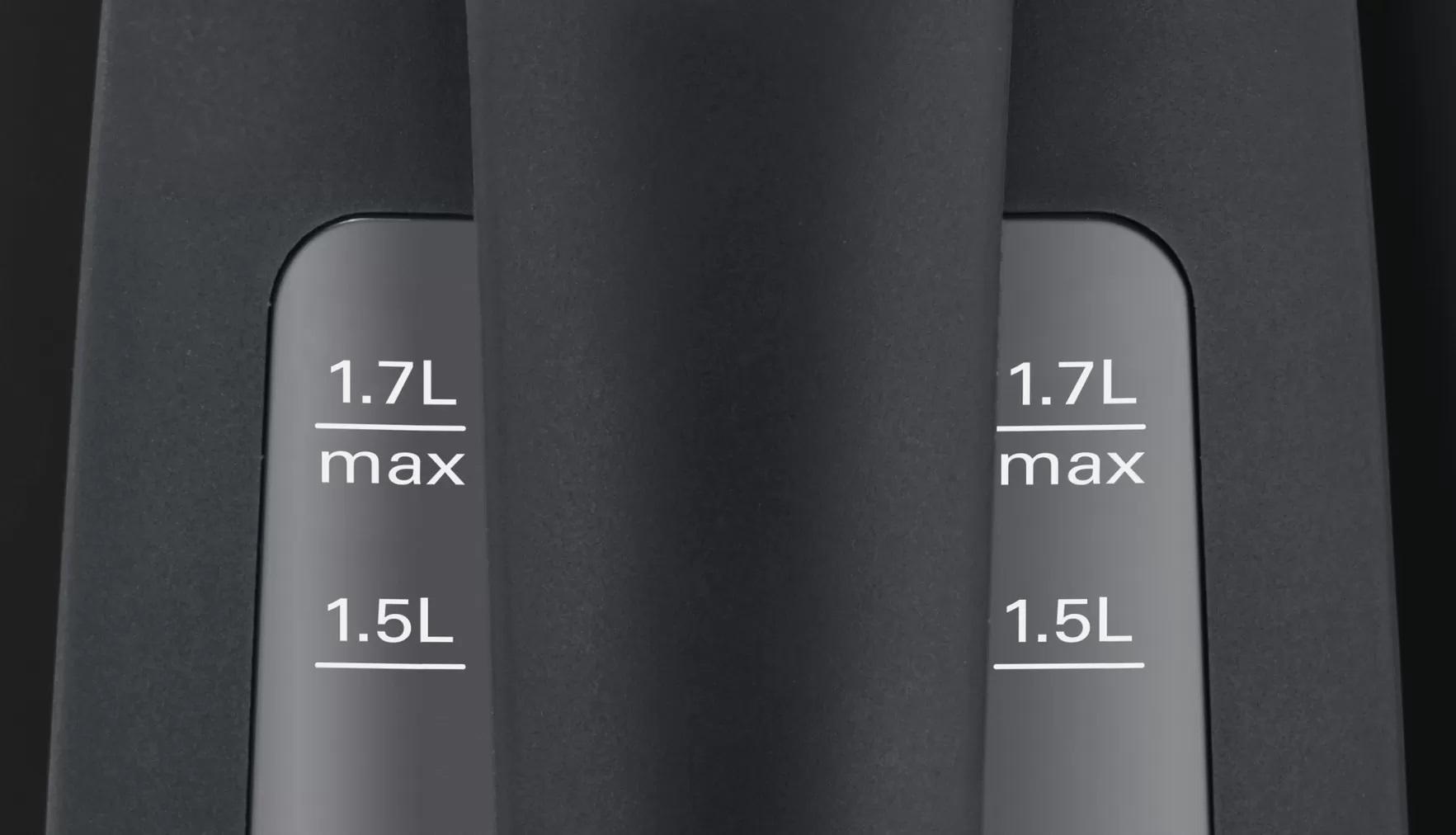 BOSCH 1.7l Kettle TWK6A033 Black